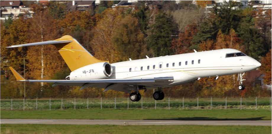 Nomad goes global with Bombardier Global 5000