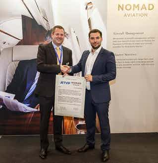 Nomad Aviation signs cooperation agreement with JETVIP, Russia