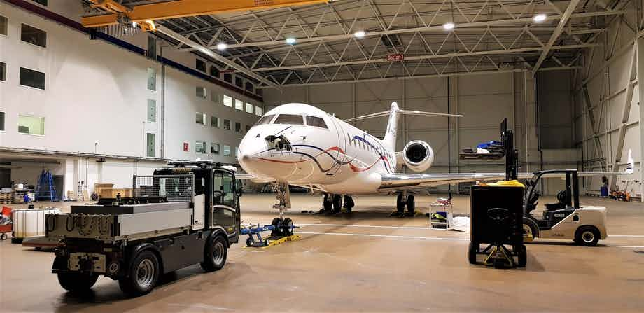 Nomad Technics completes 6 & 12 month inspections on two Embraer Legacy 600 and 650 and a 750 hours inspection on a Bombardier Global 6000.