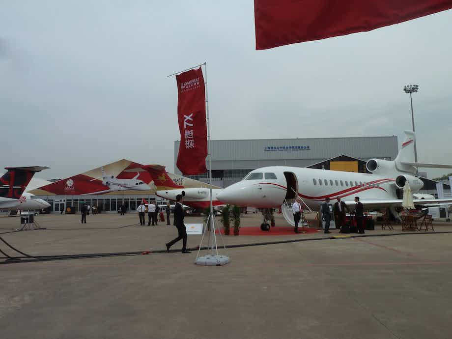 Nomad Aviation exhibits at ABACE 2017, Shanghai, PRC
