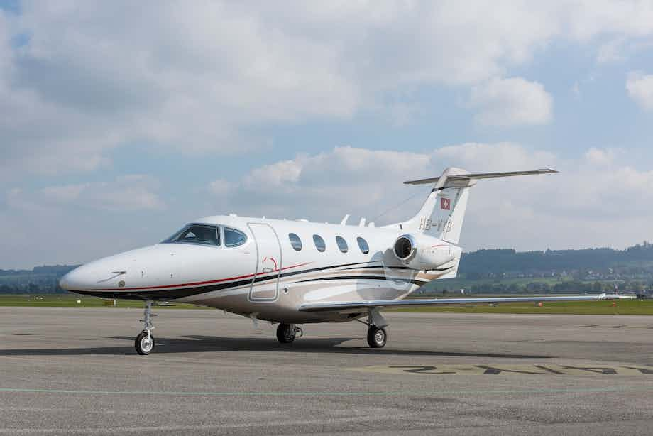 Nomad Aviation adds a Beechcraft Premier 1 business jet to its charter fleet